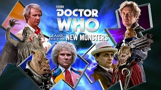 Classic Doctors New Monsters | Doctor Who