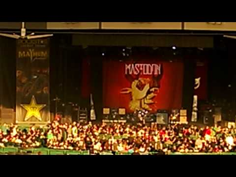 Mastodon - Crystal Skull (Live at the Rock Star Mayhem Festival, Houston TX 08/03/13)