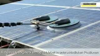 KARCHER  Gamme ISOLAR Nettoyage de panneaux photovoltaïques
