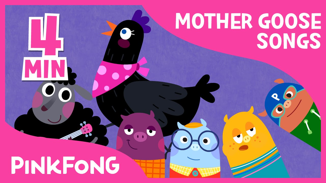 Mother Goose Nursery Rhymes Compilation Pinkfong Songs For Children You
