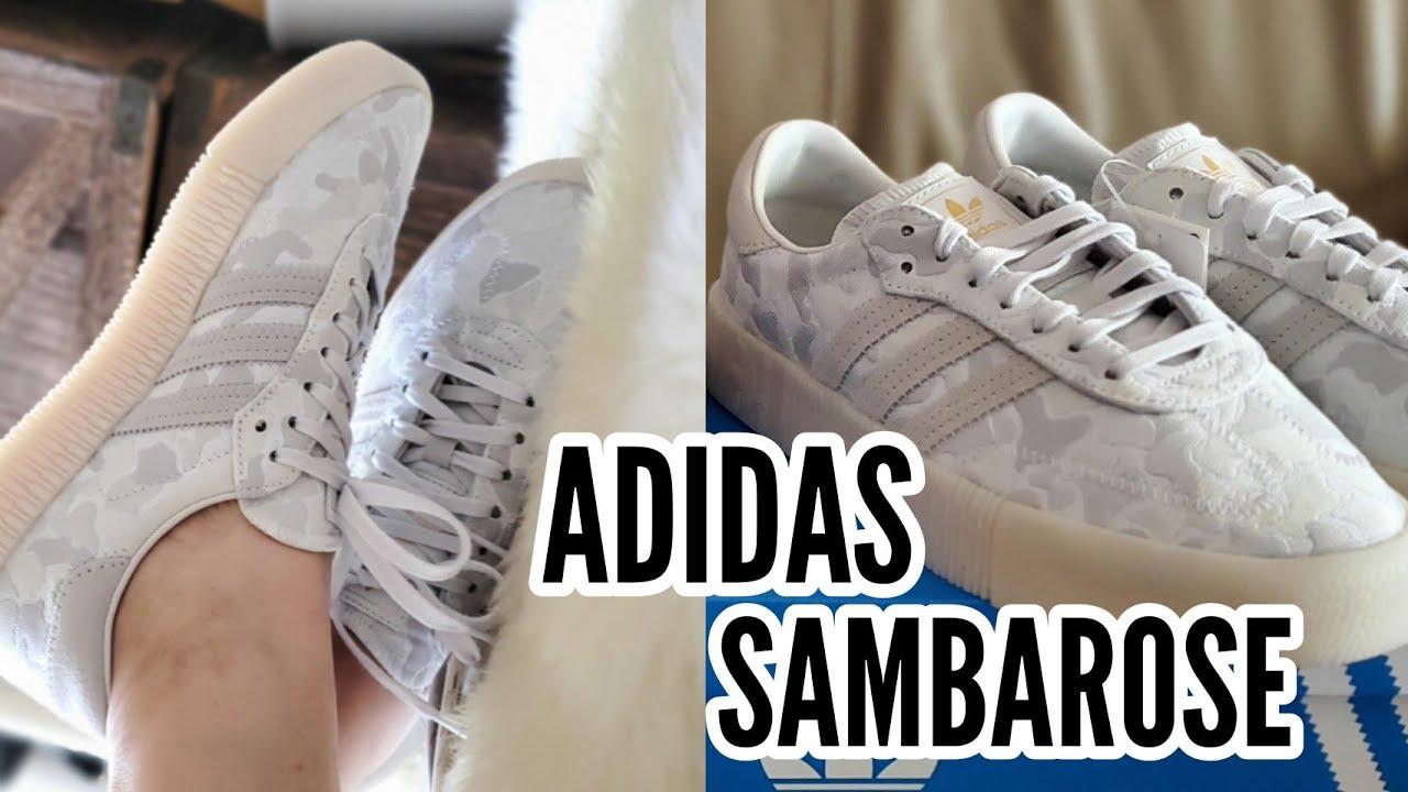 ADIDAS ORIGINALS SAMBAROSE / U_PATH X