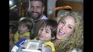 Felices en casa de Mamá: Shakira y piquen con sus hijos en Barranquilla