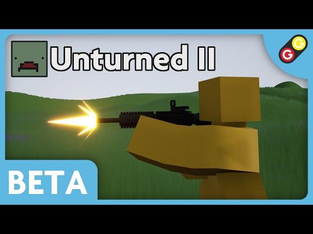 Unturned II BETA - Eaglefire Demo [FR]
