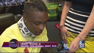 Catching up with Raiders first round pick Henry Ruggs III