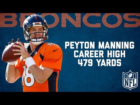 Peyton Manning Highlights from Career-High 479-Yard Game (2014) | Cardinals vs. Broncos | NFL