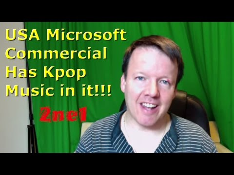 2ne1 I am the Best in Microsoft Surface Pro Commercial