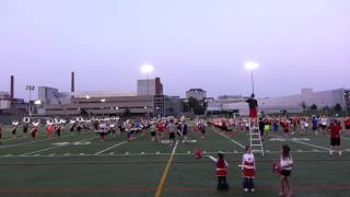 "Ohio State Marching Band Summer Session 7 30 2014 ""Hang on Sloopy"" TWICE!"