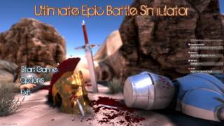 [Ultimate Epic Battle Simulator] 전쟁 시뮬레이터, 1500 VS 20000 개꿀잼이네 이거!!! 2017년 5월 29일
