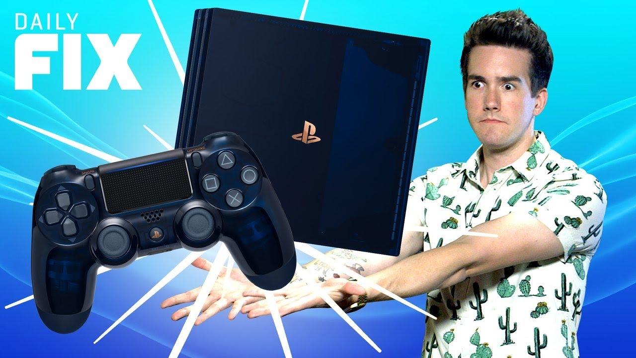 New PS4 Pro Celebrates HUGE Sony Milestone