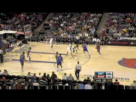 Pistons vs. Bobcats