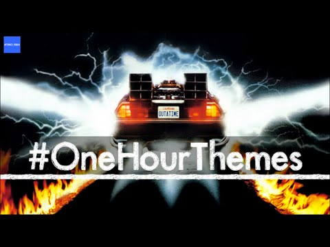 One hour of the Back To The Future theme