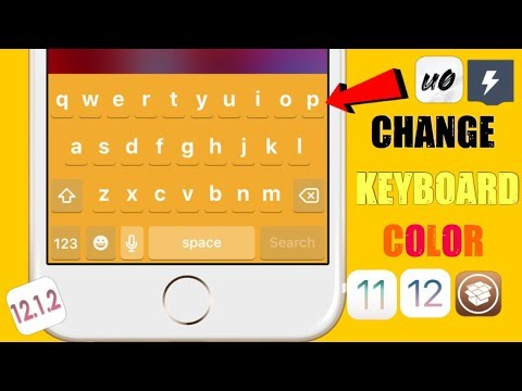 How to change your iphone keyboard color without jailbreaking