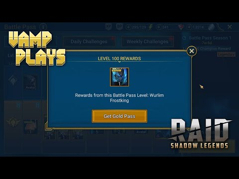 RAID: Shadow Legends | Legendary for $25 (Battle Pass) | Vamp Plays
