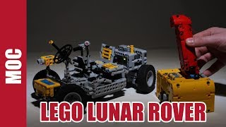 Lego Technic Remoted  Lunar Roving Vehicle
