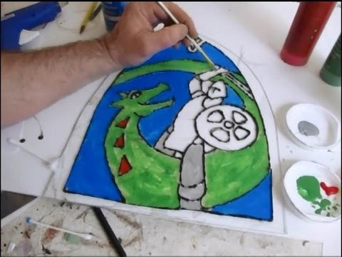 Make A Medieval Stained Glass Window