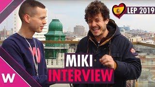 Miki (Spain 2019) | London Eurovision Party Interview