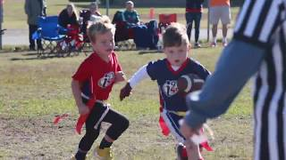 i9 Sports 352: (Northside) Flag Football Player Highlights -11/3/18-