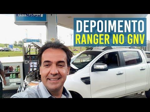Super Economia de GNV na Ford Ranger. 2 anos de 5 Geração, Top no Gás