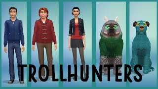 Trollhunters - The Sims 4 CAS video
