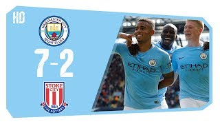 Download Video Manchester City 7 – 2 Stoke City All Goals & Highlights full HD Premier League Football MP3 3GP MP4