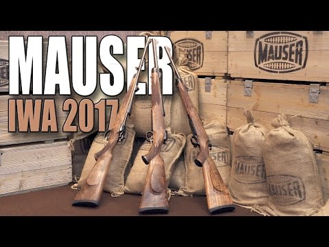 Mauser m98 - Mauser m03 - Mauser m12 - IWA 2017