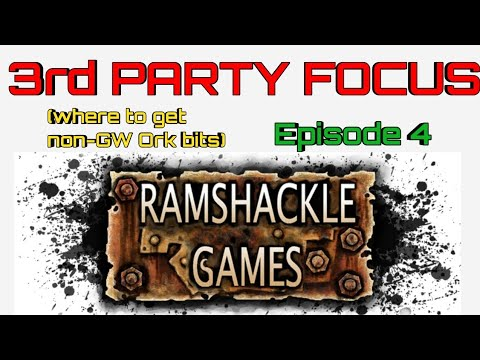 ORKS 3rd Party Focus: Ramshackle Games +DISCOUNT Code | Alternative 3rd Party Ork Vehicles