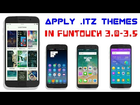 How to APPLY All  itz Themes in FUNTOUCH 3 0-VIVO Y53,Y55,V5,V7