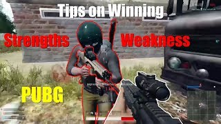 Tips on Winning (Strengths/Weakness) - PUBG Xbox 1