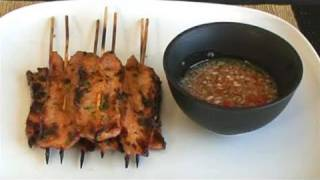 How To Cook Barbecued Thai Pork Satay