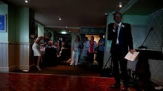 Tom Price's speech at his wedding to Jo
