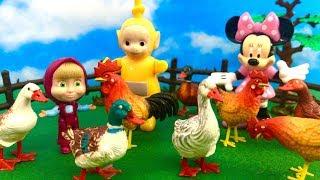 Teletubisie, Myszka Miki i Masza - Bajka po Polsku - Dziwny Kogut