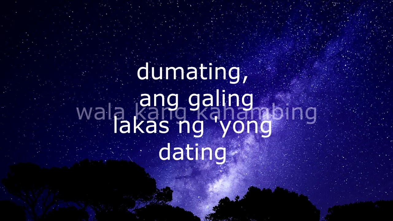 Lakas ng dating lyrics