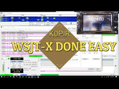 WSJT-X and the Icom 7300 the Easy Way - Super Simple! Ham