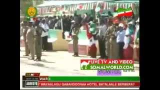 DABALDAGII MILITARY EE SOMALILAND 18 MAY 2013