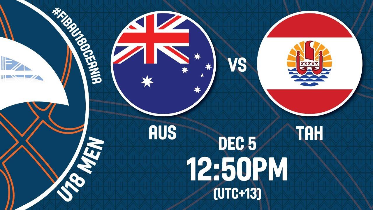 Australia v Tahiti - Full Game - FIBA U18 Oceania Championship 2016