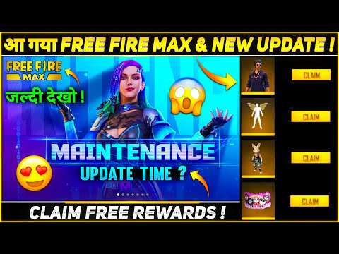 Claim Free Rewards | Free Fire New Update Time | Free Fire Max | 28 September Update Free Fire
