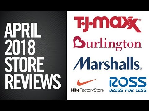 APRIL 2018 -  ROSS / MARSHALLS / BURLINGTON TRENDS (MONTHLY REVIEW)