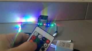 banggood 5m 3528 smd rgb non waterproof 300 led strip light 12v dc