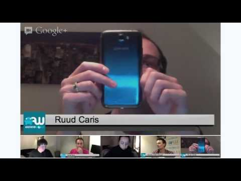 AW Hangout 3: Samsung Galaxy Note II