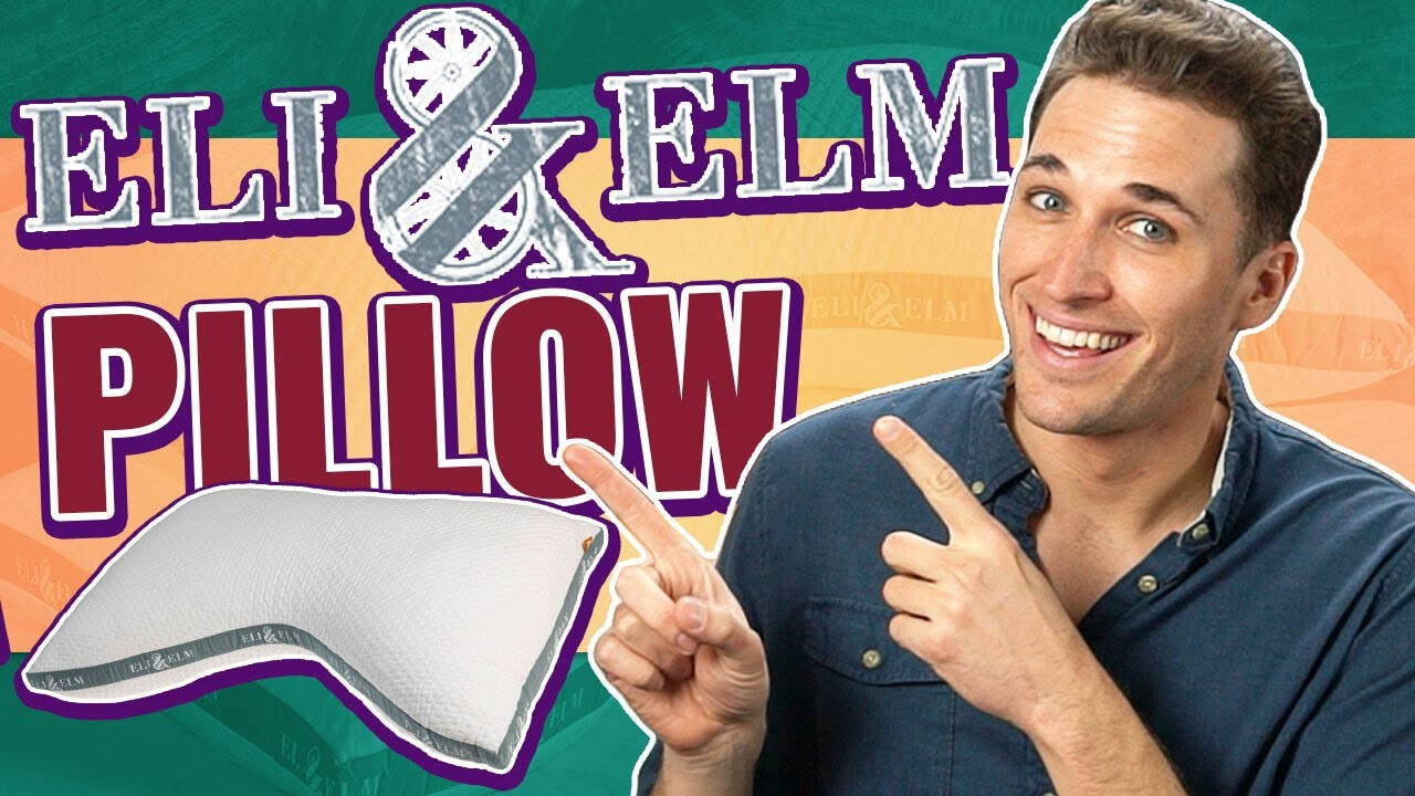 eli elm pillow review best for side sleepers 2021