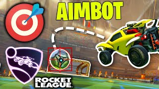 ROCKET LEAGUE'DE *AIMBOT* AÇIP OYNADIM! (Rocket League Hile / Rocket League Türkçe)