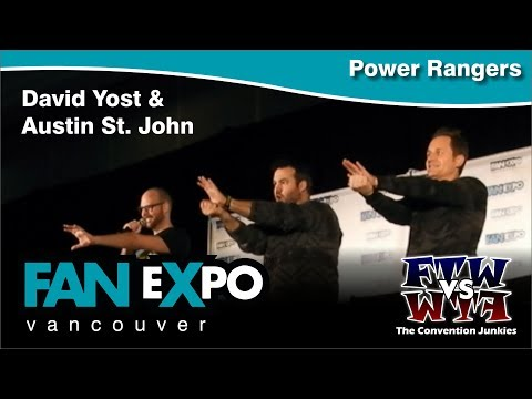 The Power Rangers - Fan Expo Vancouver 2017 Q&A Panel