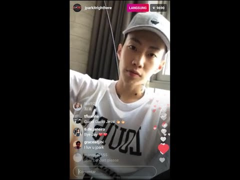 Jay Park 박재범 Insta Live in New York After Signed to Jay Z's Label Roc Nation Today July21.17
