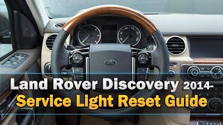 Land Rover Discovery Service Light Reset 2014-(This rather unusual method to reset the service light explained as best I can :) Its for the Land Rover Discovery 4 2014-. Please press the like button if it was ..., 2016-04-29T13:14:16.000Z)