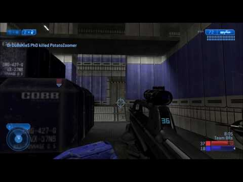"Halo 2 Classic (MCC) Clip #17 - Funny ""AFK"" BXR on Elongation [HD]"