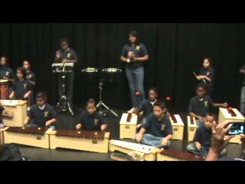 Park Lakes Elementary Percussion Ensemble  2011