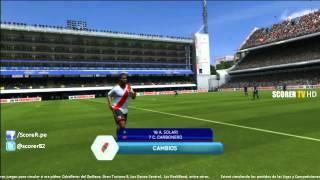Boca Junios vs River Plate | Clasico del Futbol Argentino en La Bombonera - Simulacion FIFA 14