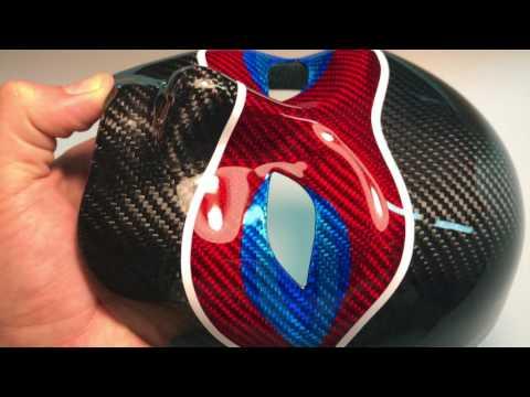 Carbo fiber mask Pepsi
