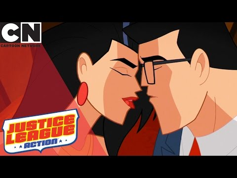 Justice League Action | Date Night | Cartoon Network