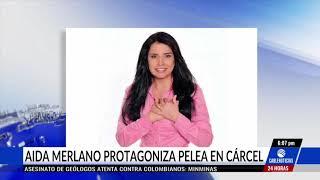 Aida Merlano protagoniza pelea con reclusa en la cárcel El Buen Pastor